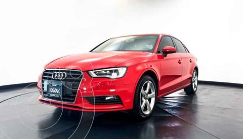 Audi A3 Sedan 1.4L Select Aut usado (2017) color Rojo precio $297,999