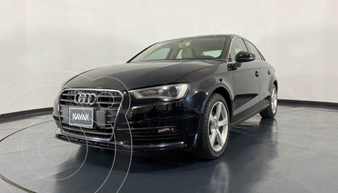 Audi A3 Sedan 1.8L Attraction Plus Aut usado (2014) color Negro precio $244,999