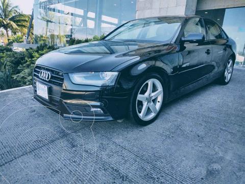 Audi A4 2.0L T Trendy (200hp) usado (2015) color Negro precio $260,000