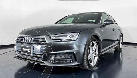 Audi A4 2.0 T S Line Quattro (252hp) usado (2017) color Gris precio $454,999