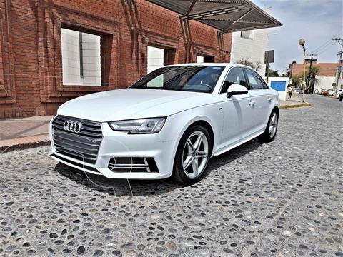 Audi A4 2.0L T S Line (200hp) usado (2018) color Blanco precio $450,000
