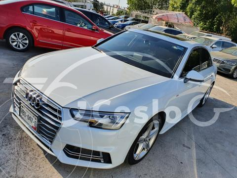 Audi A4 2.0T 252HP S LINE S TRONIC usado (2017) color Blanco precio $410,000