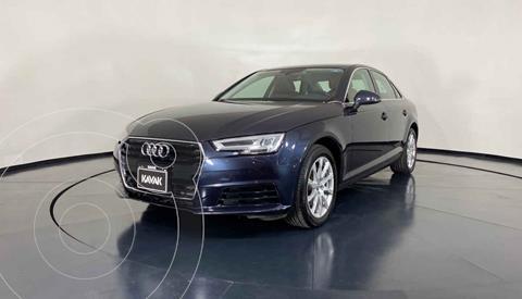 Audi A4 2.0 T Select Quattro (252hp) usado (2017) color Cafe precio $369,999