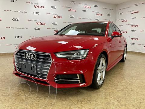 Audi A4 2.0 T S Line Quattro (252hp) usado (2017) color Rojo precio $420,000