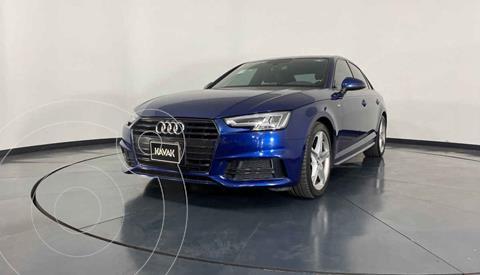 Audi A4 2.0 T S Line Quattro (252hp) usado (2018) color Azul precio $434,999