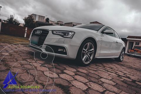 Audi A5 2.0T S-Line Quattro (211Hp) usado (2014) color Blanco precio $313,000