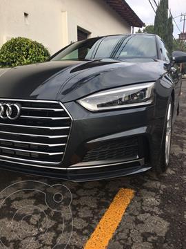 Audi A5 2.0T S-Line (252Hp) usado (2018) color Gris precio $590,000