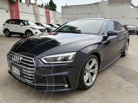Audi A5 Sportback 2.0T S-Line (190Hp) usado (2018) color Azul precio $549,000