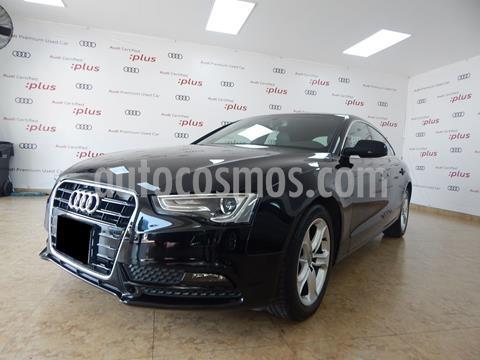 Audi A5 Sportback 1.8T Luxury Multitronic usado (2014) color Negro precio $350,000