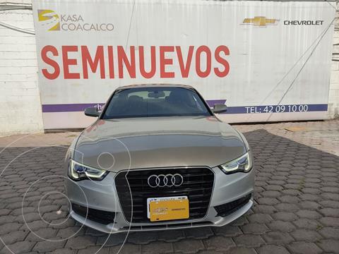 Audi A5 2.0T Luxury Multitronic usado (2014) color Plata Dorado precio $320,000