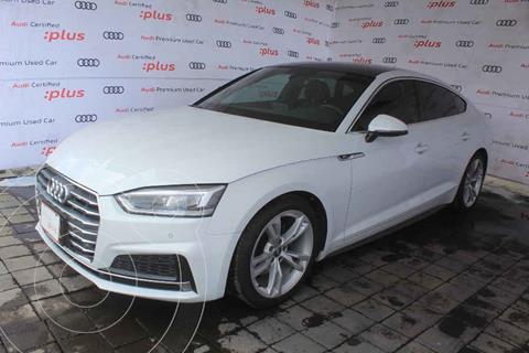 Audi A5 Sportback 2.0T S-Line (190Hp) usado (2018) color Blanco precio $560,000