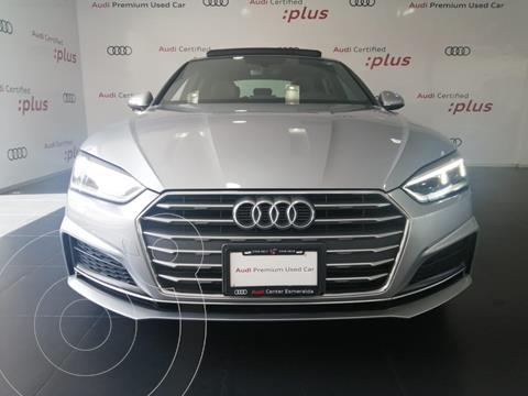 Audi A5 2.0T S-Line (190Hp) usado (2018) color Plata precio $550,000