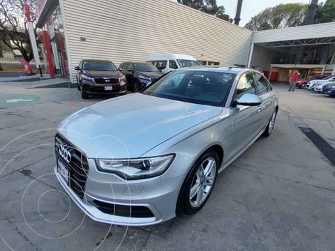 Audi A6 2.0 TFSI S Line (252hp) usado (2013) color Plata precio $259,000