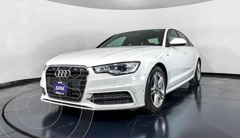Audi A6 2.0 TFSI S Line (252hp) usado (2014) color Blanco precio $309,999