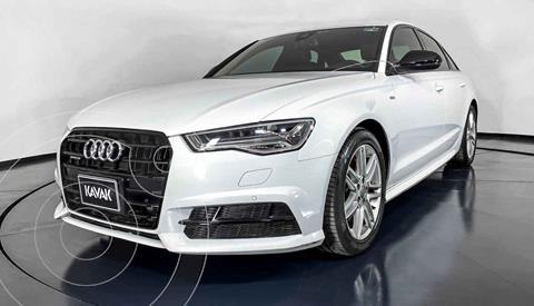 Audi A6 2.0 TFSI S Line Quattro (252hp) usado (2017) color Blanco precio $572,999