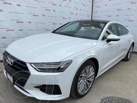 Audi A7 55 TFSI Elite usado (2019) color Blanco precio $890,000