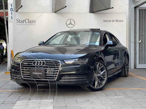 Audi A7 3.0T Elite (333hp) usado (2017) color Negro precio $630,000