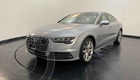 Audi A7 2.0T Elite (252hp) usado (2016) color Plata precio $439,999