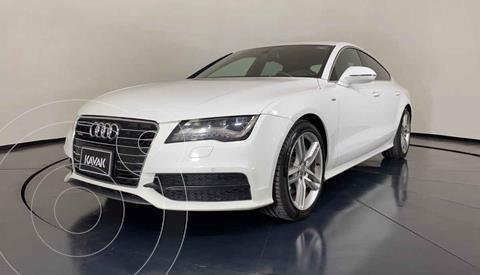 Audi A7 3.0T S Line (333hp) usado (2013) color Blanco precio $399,999