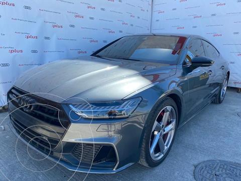 Audi A7 55 TFSI S line usado (2019) color Gris precio $1,100,000