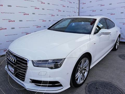 Audi A7 3.0T S Line (333hp) usado (2018) color Blanco precio $970,000