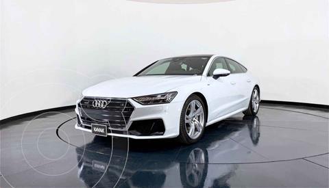 Audi A7 2.0T S Line Quattro (252hp) usado (2019) color Blanco precio $1,127,999