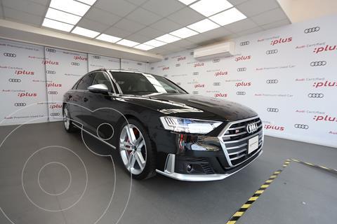 Audi A8 4.0L T FSI Elite (420 hp) usado (2021) color Negro precio $2,929,900