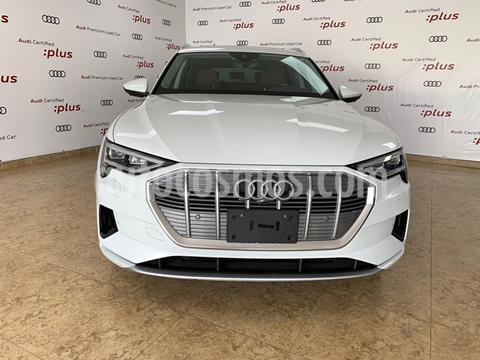 Audi e-tron 55 Advanced quattro usado (2020) color Blanco precio $1,785,508