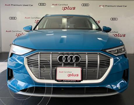 Audi e-tron 55 Advanced quattro usado (2020) color Azul financiado en mensualidades(mensualidades desde $39,798)