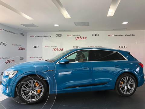 Audi e-tron 55 Advanced quattro usado (2020) color Azul precio $1,622,042