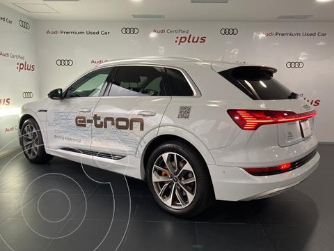 Audi e-tron 55 Advanced quattro usado (2021) color Blanco precio $1,599,000