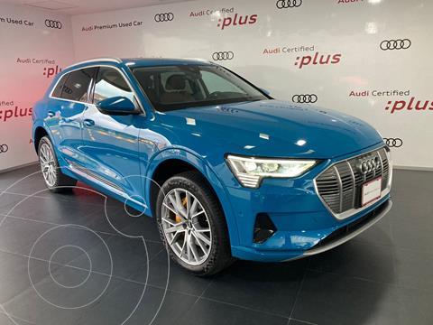 Audi e-tron 55 Advanced quattro usado (2021) color Azul precio $1,599,000