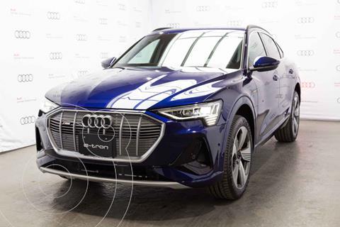 Audi e-tron 55 SB S line quattro nuevo color Azul precio $2,019,900