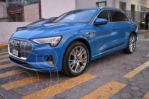Audi e-tron 55 SB S line quattro nuevo color Azul financiado en mensualidades(enganche $348,780)