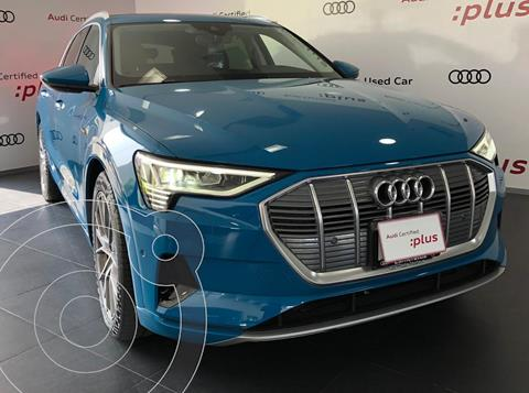 Audi e-tron 55 Advanced quattro usado (2020) color Azul financiado en mensualidades(enganche $54,000)