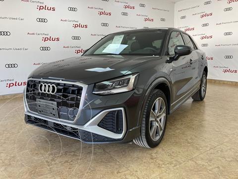Audi Q2 35 TFSI Sport usado (2021) color Gris Oscuro precio $615,000