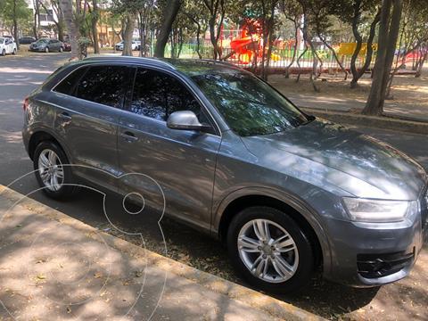 Audi Q3 Luxury (211Hp) usado (2013) color Plata Hielo precio $197,500