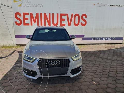 Audi Q3 Luxury (170 hp) usado (2014) color Plata Dorado precio $285,000