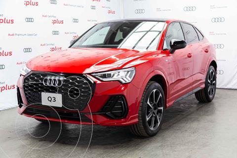 Audi Q3 40 TFSI S Line Sportback  nuevo color Rojo precio $1,001,200