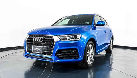 Audi Q3 Elite (180 hp) usado (2017) color Azul precio $352,999
