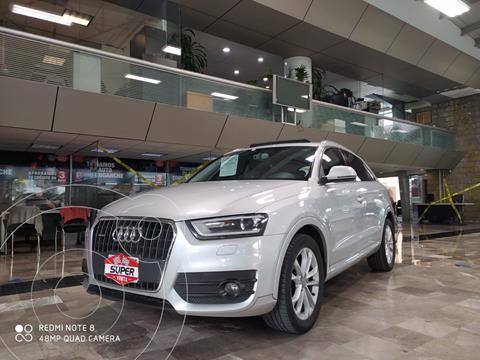 Audi Q3 Elite (211Hp) usado (2014) color Plata Dorado precio $299,000