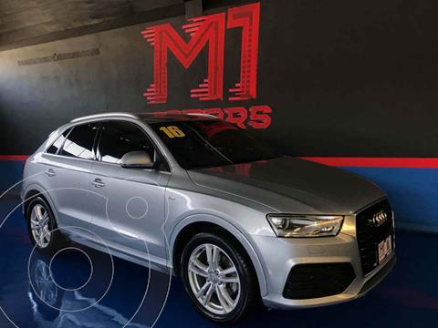 Audi Q3 S Line (170 hp) usado (2016) color Plata precio $322,900