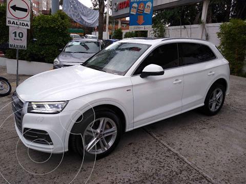 Audi Q5 2.0L T S Line usado (2018) color Blanco precio $598,000