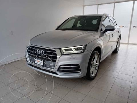 Audi Q5 2.0L T S Line usado (2018) color Plata precio $645,000
