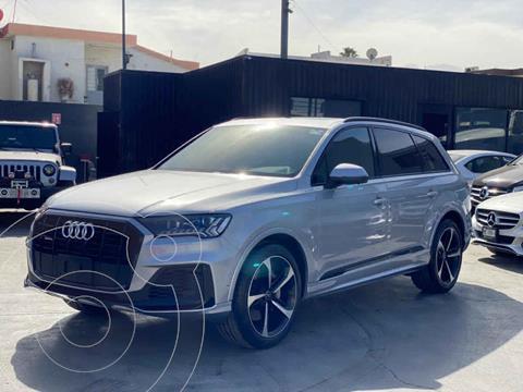 Audi Q7 3.0L TFSI S Line Quattro (333Hp) usado (2021) color Plata precio $1,644,000