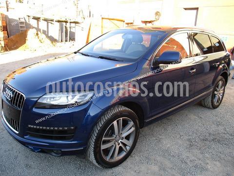 Audi Q7 3.0L TDI Elite (240Hp) usado (2014) color Azul precio $408,000