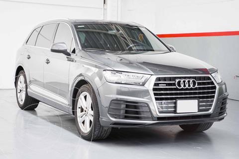 Audi Q7 3.0L TFSI S Line Quattro (333Hp) usado (2017) color Gris precio $709,000