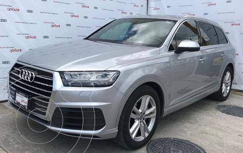 Audi Q7 3.0T S Line  usado (2018) color Plata Dorado precio $850,000