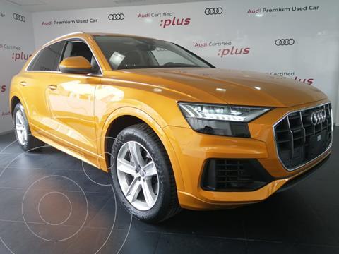 Audi Q8 55 TFSI Elite usado (2020) color Naranja financiado en mensualidades(mensualidades desde $17,873)