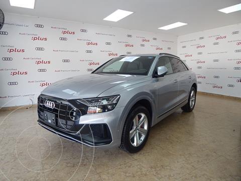 Audi Q8 55 TFSI S Line usado (2020) color Plata Dorado precio $1,375,000
